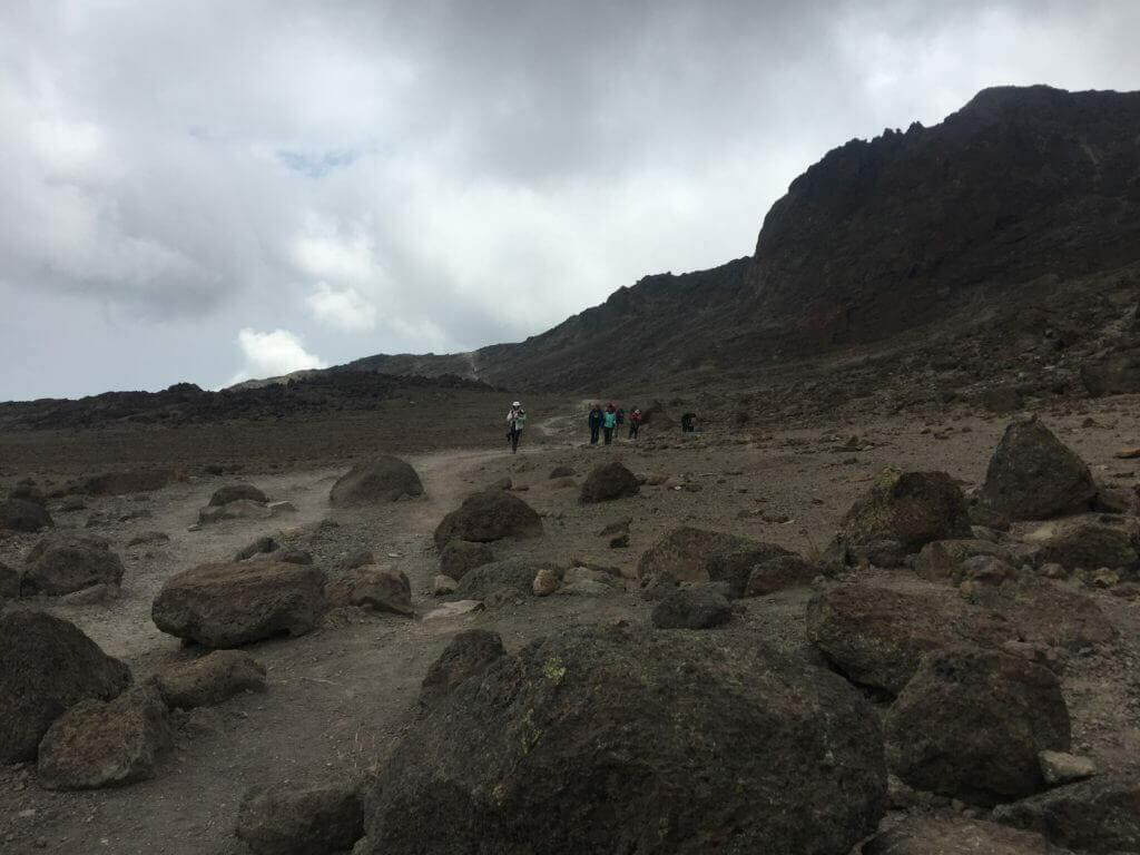 Kilimanjaro hiking trails