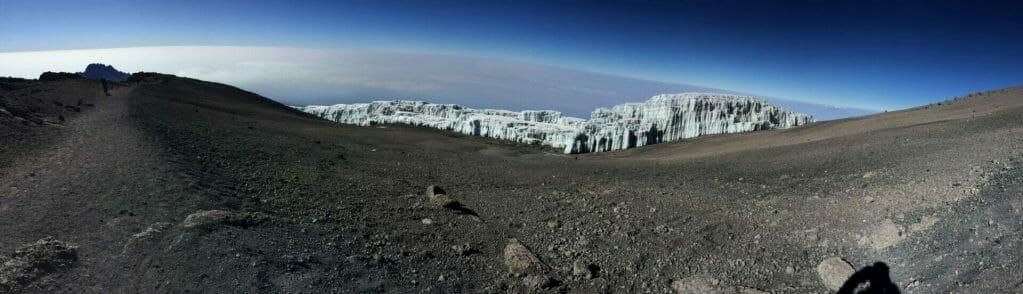 Rebmann Glacier Kilimanjaro