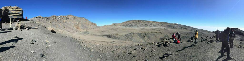 Kilimanjaro Stella Point Panorama