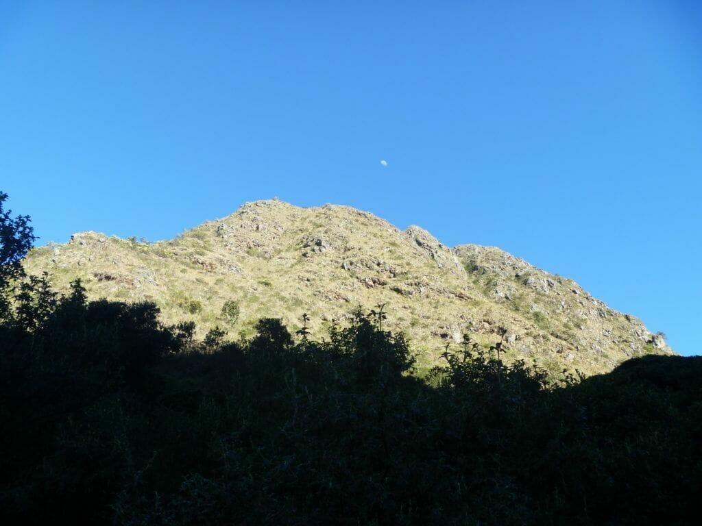 Inca Trail, moon