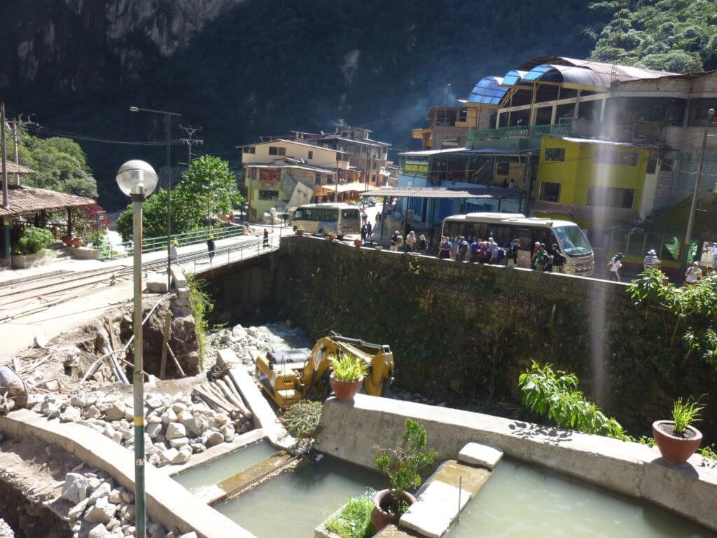 Aguas Calientes, machu Picchu