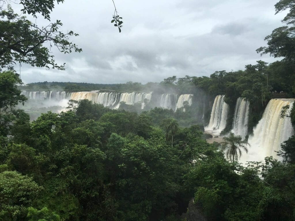 Iguaçu Falls, Iguassu Falls, Iguazu Falls, Argentina, Panorama