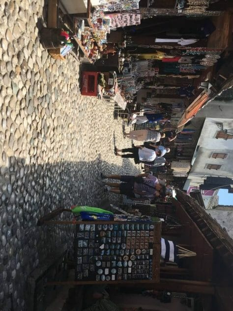 Mostar Old Town passages