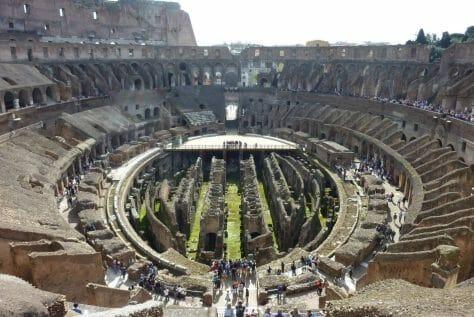 Colosseum, Rome, Panorama, Arena
