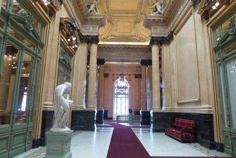 inside Teatro Colon Buenos Aires,