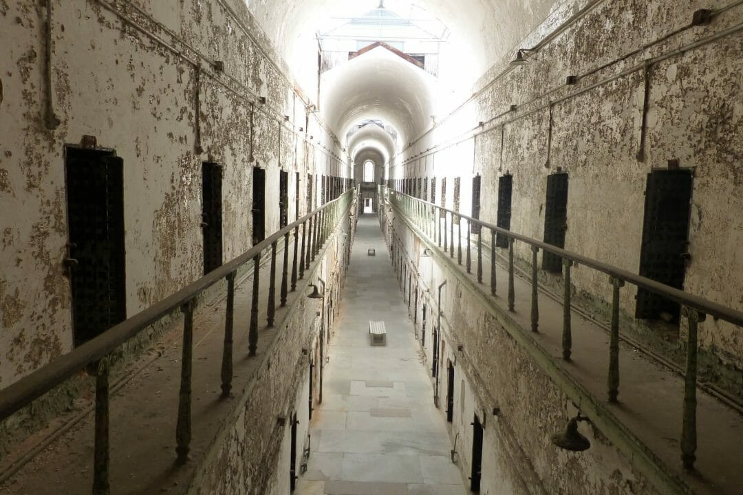eastern state penitentiary cell block 7