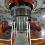 inside itaipu turbine