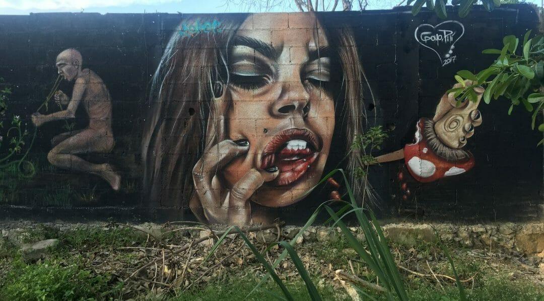 el hongo mural