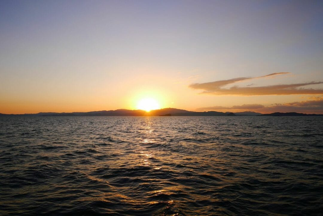 sunset Nicola peninsular, sunset cruise quepos, stunning sunsets